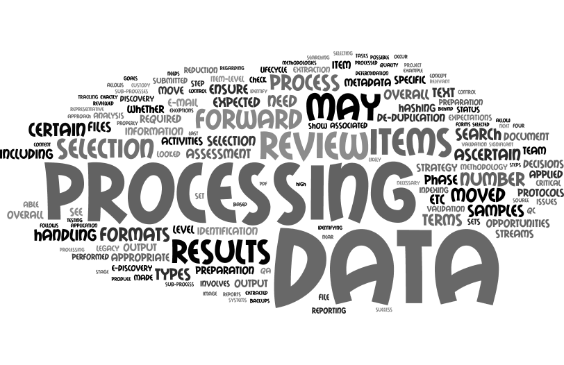On Legal Teams and E-Discovery Processing